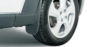 Брызговики передних колес