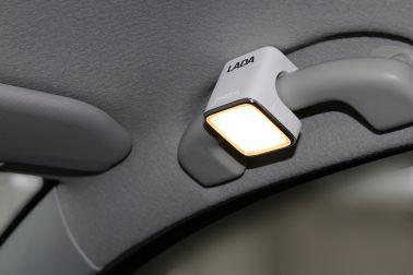 Светодиодный фонарь с логотипом LADA (белый корпус)