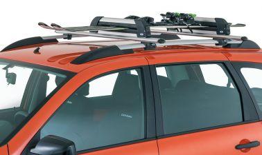 Багажник в сборе (аэродинамический профиль дуги) для комплектации с рейлингами