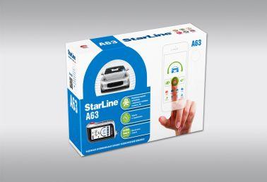 Охранно-телематическая система StarLine A63