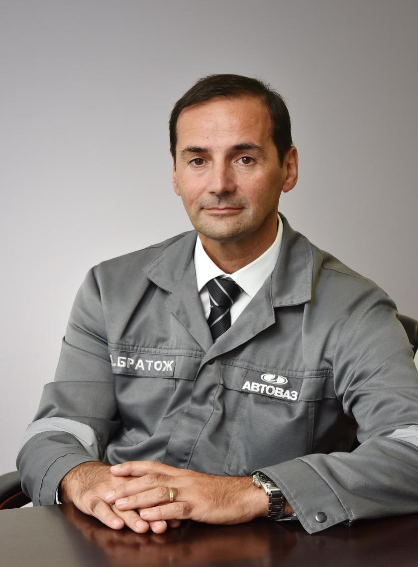 Алеш Братож возглавил производство и цепочки поставок АВТОВАЗа