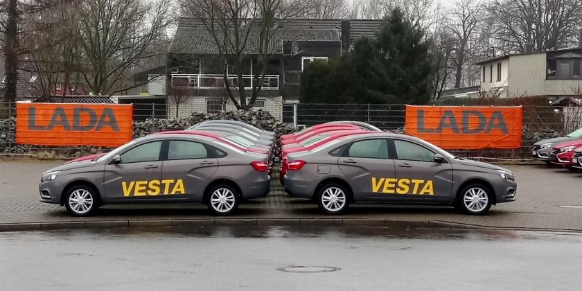 Стартовали продажи LADA Vesta в Германии - Новости - Официальный ... aa20ecd8ece