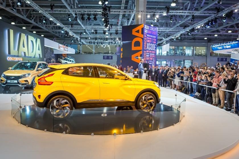 LADA приглашает на Международную выставку ''Мир автомобиля''