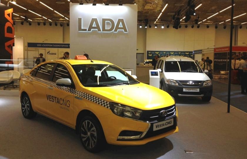 Почему Lada Vesta CNG идеально подходит для работы в такси?