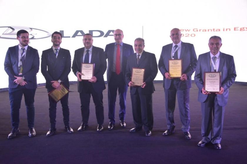 Новая LADA GRANTA – старт продаж в Египте