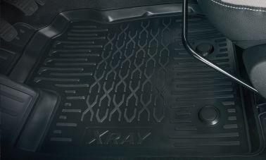 Полиуретановые ковры салона (для комплектаций с вещевым ящиком)