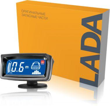 Система помощи при парковке LA 800 H (8 серебристых датчиков)