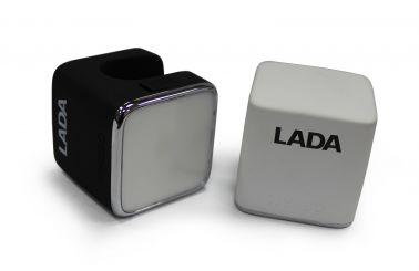 Светодиодный фонарь с логотипом LADA (черный корпус)