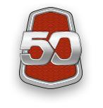 Логотип АВТОВАЗ 50