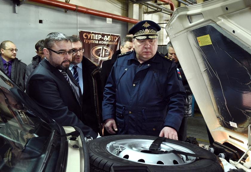 Председатель Комитета Государственной Думы РФ по обороне Владимир Шаманов посетил АВТОВАЗ