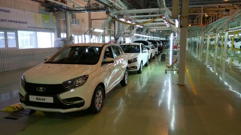 В Казахстане стартовало производство LADA Vesta и LADA XRAY